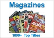 Subscribe to over 1000 magazines online...