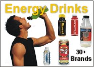 TripleClicks Products: Energy drinks and sports drinks - over 30 brands....