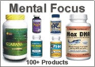 Mental focus and awareness...over 100 products