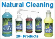 Natural cleaning products for the home and office...
